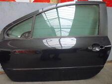 Peugeot 307 Tür vorne links Fahrertür 3 Türer EXL Schwarz