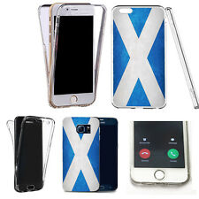 360° Gel Silicone Case Cover for apple iphone SE - scottish flag