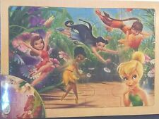 Disney Fairies Woodboard Puzzle, 12 Pieces Tinker Bell Girls 4 yrs. + New 2011