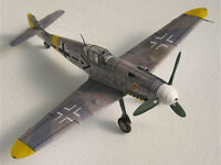 1:32 Scale Messerschmit German BF-109 Fighter Aircraft Handcraft Paper Model Kit