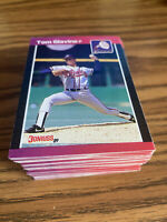(100) 1989 Donruss Tom Glavine #381 Atlanta Braves NR-MT+ Recent Set Breaks