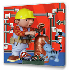"""Bob the Builder Canvas 10""""x10""""  Framed Picture"""