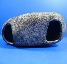 Aquarium Rock Cave XXL Ceramic Stone Ornament Decor CICHLID Fish Tank