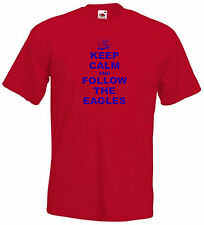Crystal Palace FC Keep Calm Follow The Eagles Youth Kids T-Shirt - All Sizes