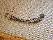 Collar Chain with stones Womens Sterling Silver shirt
