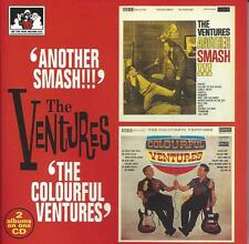 The Ventures-Another Smash!!!/The Colourful Ventures by  2 on 1 CD, 1994, UK
