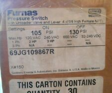 Furnas 69jg109867r Pressure Switch With Unloader Valve And Lever New Surplus