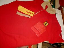 """FERRARI   ,2000s  genuine SHIRT  """" FIRE SERVICE """"  from Factory ,USED,SIZE LARGE"""