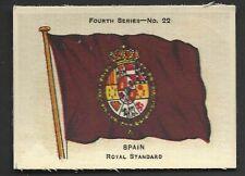 ARDATH - FLAGS 4TH SERIES (SILK) - #22 SPAIN, ROYAL STANDARD