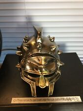 Mini Roman Gladiator Helmet, Polish Finish Tabletop Decorative Maximums battle