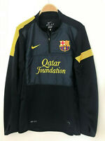 Sweatshirt half zip with Qatar staff FC Barcelona training fcb MESSI fcbarcelona