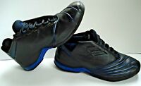 Rare Adidas TMAC II 2 2002 Original Tracy McGrady t mac IV vc black Blue Sz 8