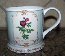 The Royal Horticultural Society Queen's Bone China 8oz. Cup Mug REDOUTE'S ROSES