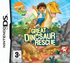 Nintendo DS juego-go diego go! Great Dinosaur Rescue UK con embalaje original