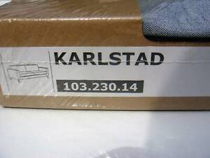 New Original IKEA cover set for Karlstad 3 seat sofa in Knisa Light Grey