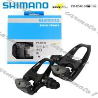 New PD-R540 SPD SL Clipless Road Pedals pair set with cleats+bolts Black CMT