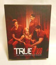 True Blood: 7 DISC Complete Fourth Season 4 BLU-RAY Box & Bonus Digital DVD Copy