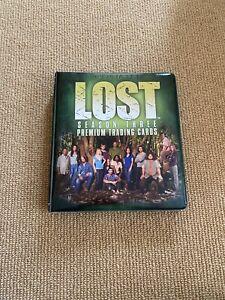Collectible LOST Season 3 Three Premium Trading Cards Binder Inkworks 2007