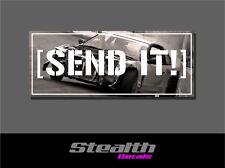 Send It! Drift Slap Sticker Decal, Stance, Initial D