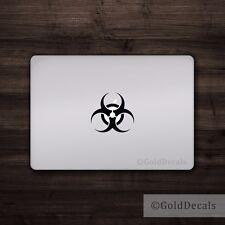 Biohazard - Vinyl Decal Car Truck Mac Sticker Funny Zombie Radioactive Symbol