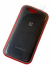 Genuine OnePlus 5 Karbon Parachoques Cubierta Original Diseño De Carbono Oficial Nuevas