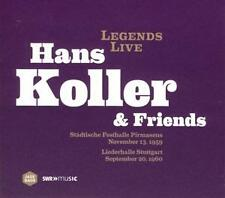 CD Hans Koller & Friends + Martial Solal / Percy Heath / Connie Kay  (OVP)