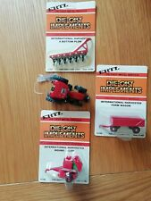 Britain's Ertl. Case 225 Tractor 1/64 With 3 Implements All New.