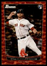 2012 Bowman Draft Red Ice #40 Will Middlebrooks /25