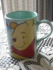 DISNEY STORE COLLECTORS  MUG - WINNIE THE POOH - IN LIGHT GREEN - TAKE A LOOK