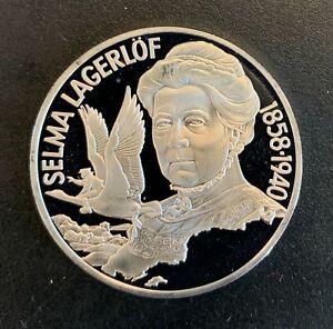 Sweden - Silver 20 Euro Coin - 'Selma Lagerlöf' - 1996 - Proof