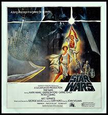 STAR WARS GEORGE LUCAS HARRISON FORD 1977 6-SHEET BILLBOARD