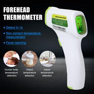 Digital Infrarot LCD Stirnthermometer Kontaktlos Fieber Körper Body Erwachse