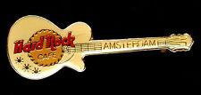 Amsterdam HRC White Les Paul Guitar Pin