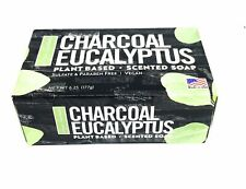 NEW Bar of Charcoal Eucalyptus Plant Based Scented Soap