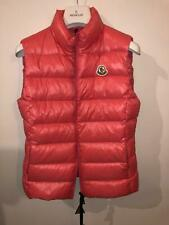 MONCLER GHANY GILET JACKET PINK BNWT SIZE 2
