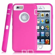 Shockproof Heavy Duty Built Screen Armor Case Cover For iPhone 5S 5C 6 6S 7 Plus