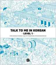 Talk To Me In Korean Level 1 Book Hangul Grammar Beginner Level 2015 Edition New