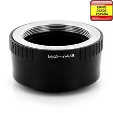 Anillo adaptador rosca M42 a micro Cuatro Tercios micro4/3 micro Four Thirds