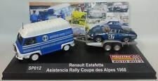 Renault  Alpine A110 + Asistencia  SCALEXTRICPASSION SP012