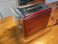 CLEAR HEAVY VINYL PLASTIC  COVER  FOR A  2 OR 4 SLICE  TOASTERS