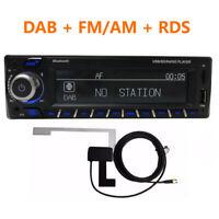 Digital Auto Radio 1Din Stereo Audio MP3 Player RDS FM AM USB TF ISO AUX DAB+ 1x