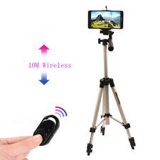 For LG G8 G7 G6 G5 G4 V50 V40 V30 V20 Aluminium Camera Tripod+Bluetooth Control