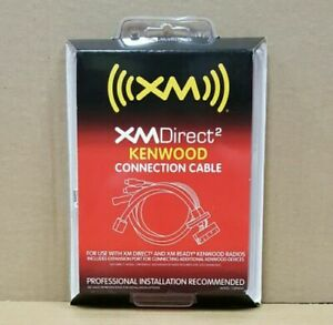 Audiovox CNPKEN1 XMDirect2 Adapter Cable for compatible Kenwood Units * NEW *