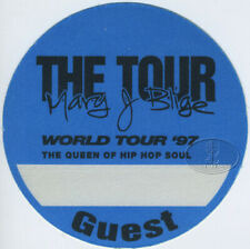 Mary J. Blige 1997 Backstage Pass Guest, blue