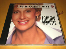 TAMMY WYNETTE 16 hits CD divorce STAND BY YOUR MAN dont wanna play house BEDTIME
