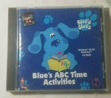 Blue's Clues Blue's Abc Time Activities (Pc/Mac, 1998)
