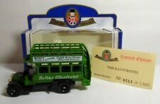 OXFORD DIECAST LIMITED EDITION AEC BUS THE WAR ILLUSTRATED MAG002 - #514 OF 1500