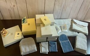 Lot of JAMES AVERY 14 Boxes, 29 Felt Bags, 5 Cards