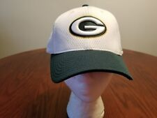 Green Bay Packers White Adjustable Cap from Reebok.