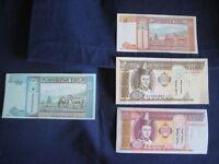 MONGOLIA-2000;2003 ISSUE-4 VALUES - 5 - 50 TUGRIK - MULTIBUY OFFER - UNC